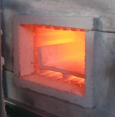 کوره عملیات حرارتی 9 لیتری ، Heat treatment furnace