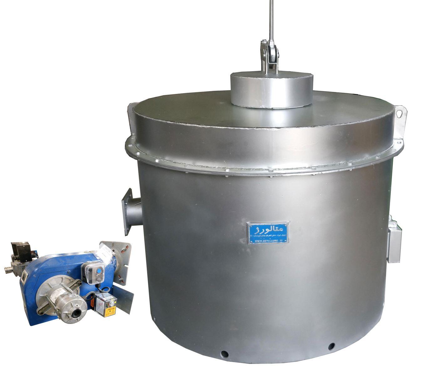Aluminium melting 35 kg ، کوره ذوب آلومینیوم