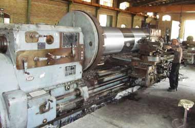 شرکت متالورژ - ماشین تراش آلمانی VDF